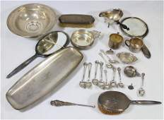 STERLING & SILVERPLATE COLLECTION
