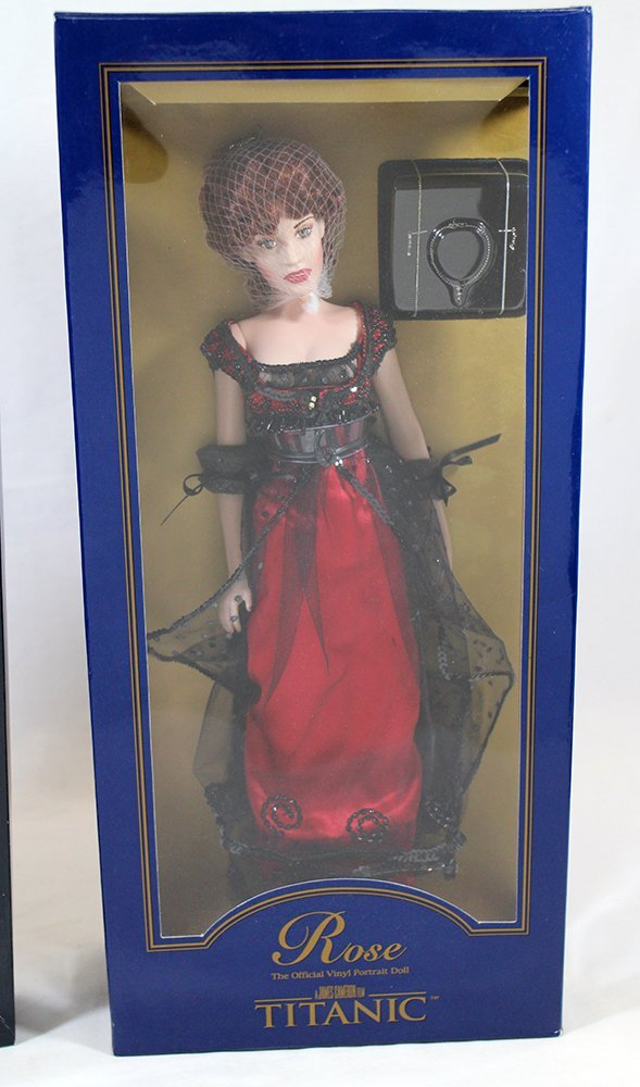 """FRANKLIN MINT 16"""" ROSE TITANIC DOLL & OUTFIT - 2"""