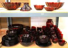ROYAL RUBY RED DEPRESSION GLASS