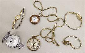VINTAGE POCKET WATCHES & WRISTWATCHES