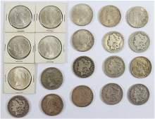 20 SILVER DOLLAR COINS