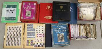 LARGE STAMP COLLECTION