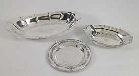 Sterling Silver Bowls & Dish
