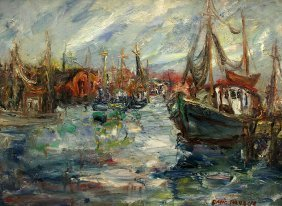 David Pallock Painting