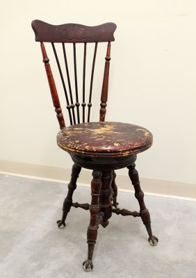 19th Century Piano Stool