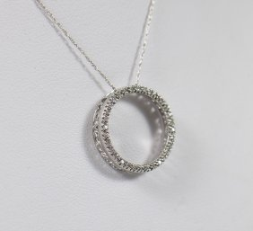 10kt Circle Of Love Pendant Necklace