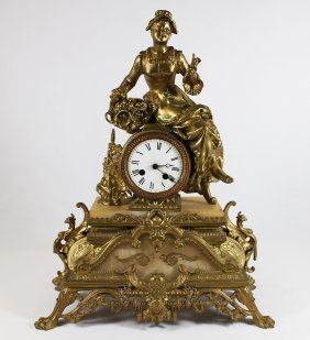 Japy Freres French Clock