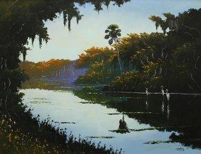 Johnny Daniels Highwaymen Painting
