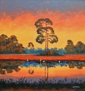 Willie Daniels Highwaymen Painting