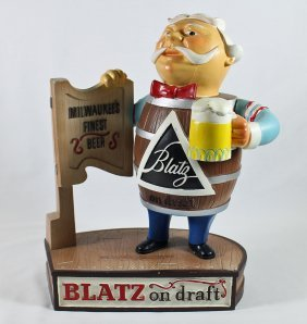 Blatz Beer Advertising Display