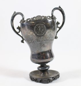 1900 Yale Vs. Dartmouth Basketball Trophy