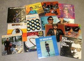 (14) Roy Orbison Record Albums