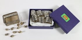 Shanghai Tang Napkin Rings & Place Card Holders