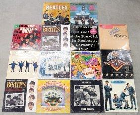 (14) Sealed Beatles Vinyl Lp Record Albums