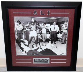 Muhammad Ali Signed Beatles Photo