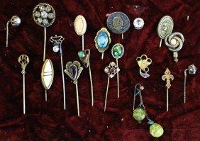 19th Century Victorian Stick Pins