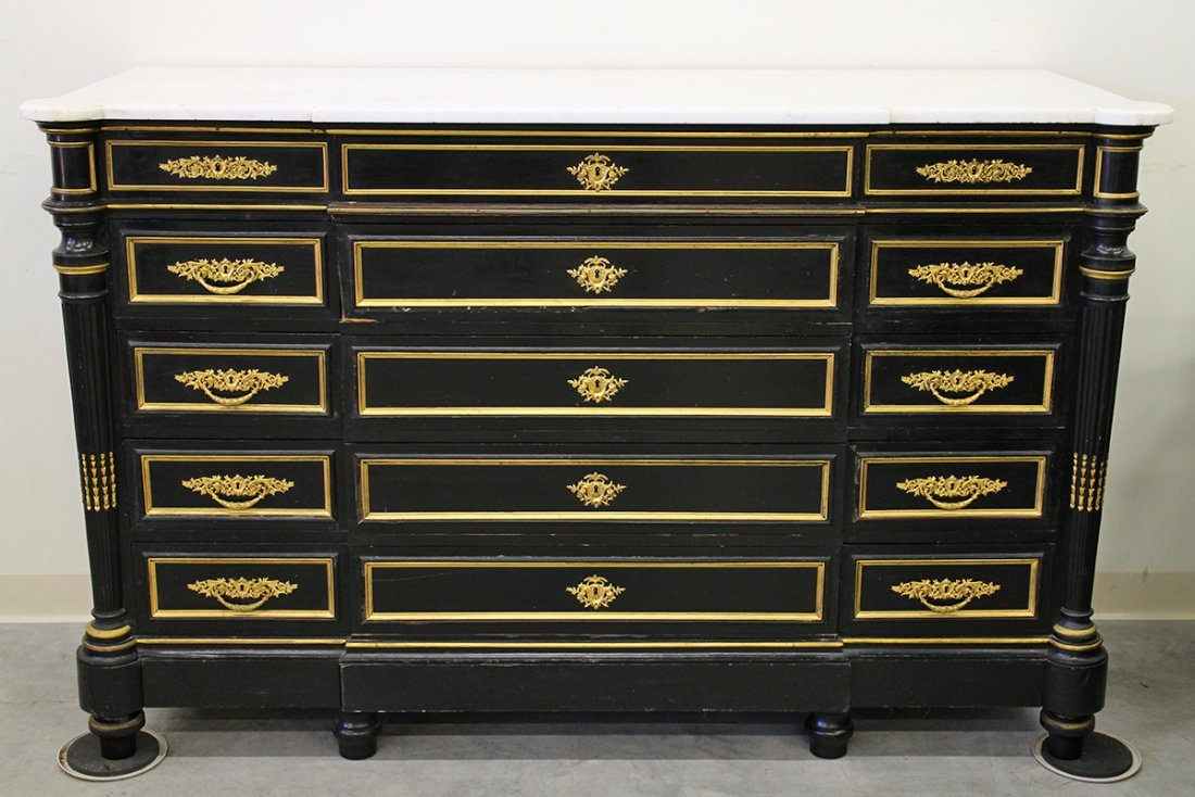 19TH CENT. FRENCH LOUIS XVI STYLE CHEST