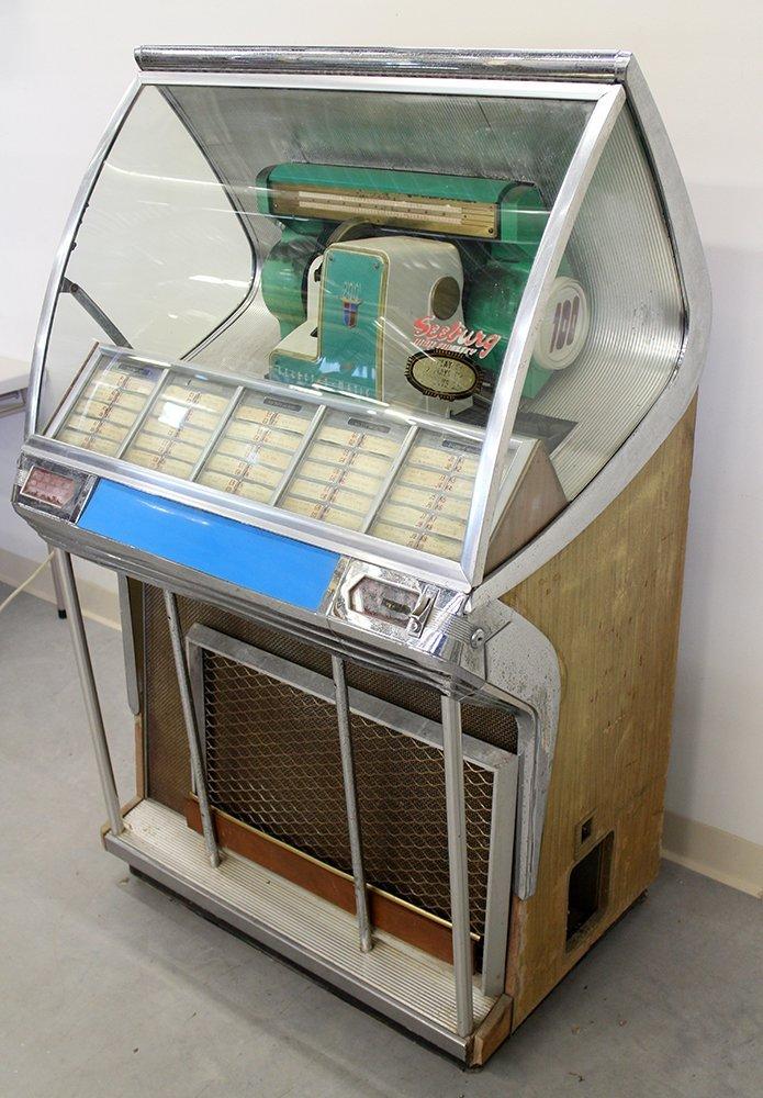 1956 SEEBURG 200 JUKEBOX - 3