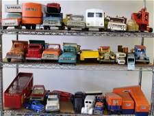 VINTAGE TOY CARS & TRUCKS