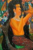 ANDRE PIERRE HAITIAN PAINTING