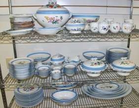 107 Pc Limoges H & Co China Set