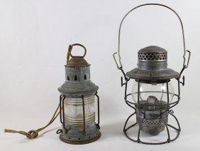 (2) Hanging Lanterns