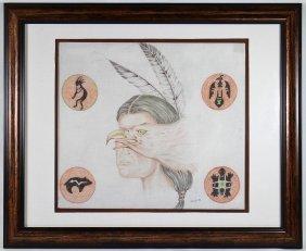 Navajo Indian Drawing