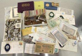 Foreign Coins & Bills