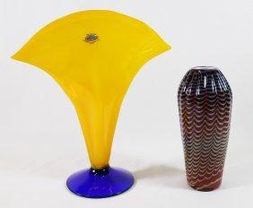 Blenko & Art Glass Vase