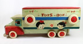 Vintage Pull Toy Truck