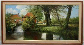 Frans Baaijens Oil Painting