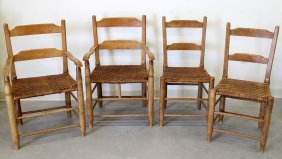 (4) Shaker Style Chairs