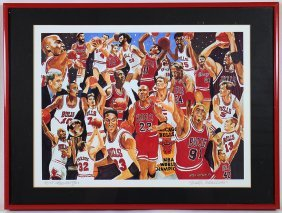 Stan Kotzen Chicago Bulls A/p Artwork