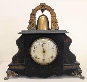 Green Mantle Curfew Clock