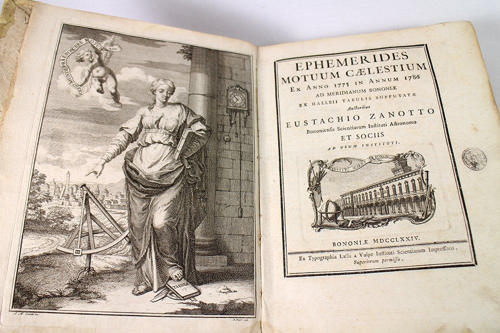 18TH CENTURY ASTRONOMY FORMULA BOOK - 3