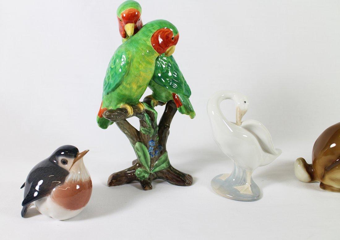 BIRD & RABBIT FIGURINES - 2