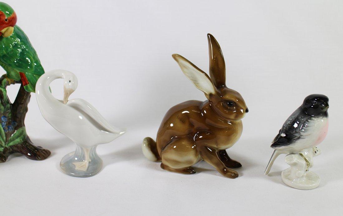 BIRD & RABBIT FIGURINES - 3