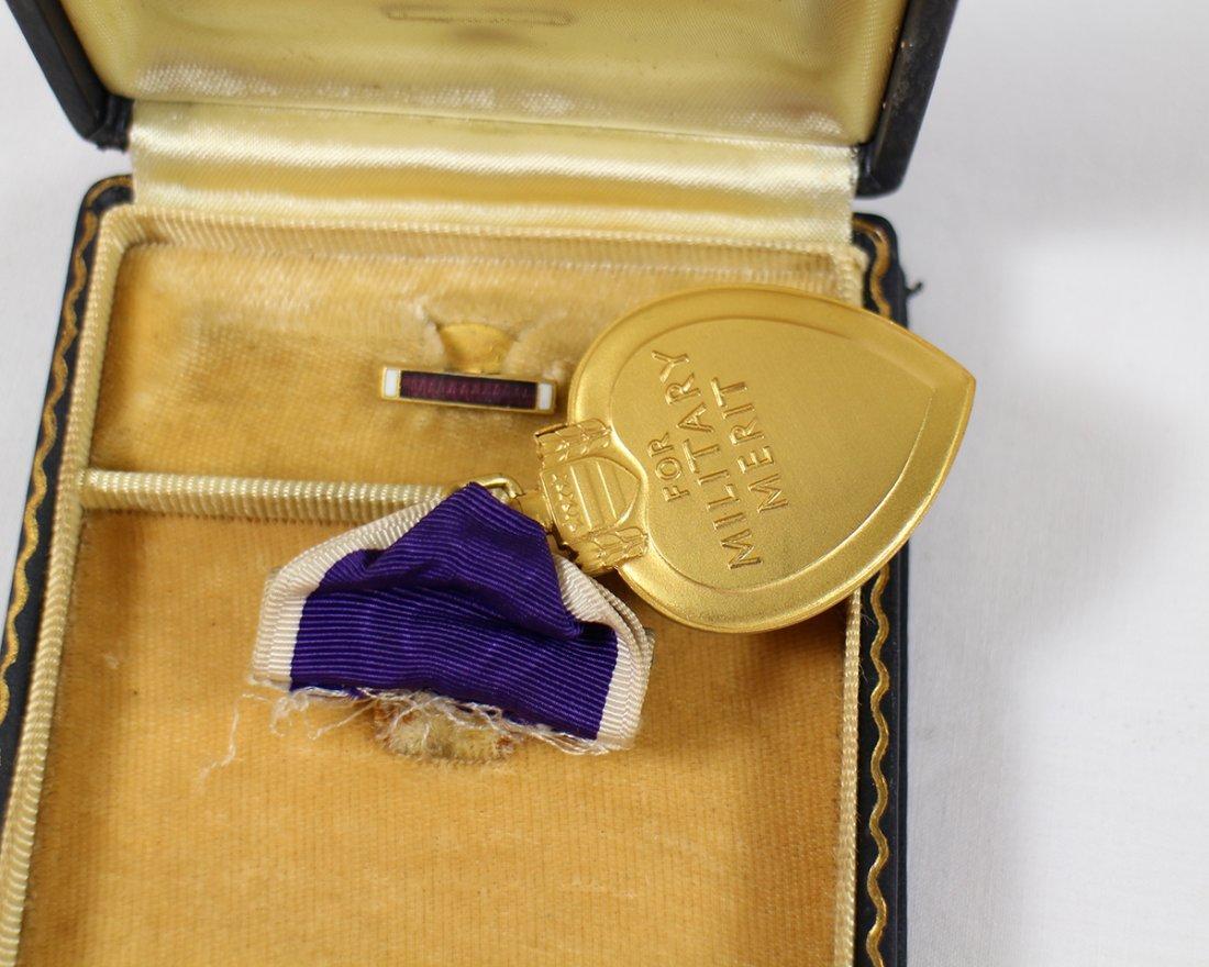 WWII PURPLE HEART MEDAL W/ BOX - 3
