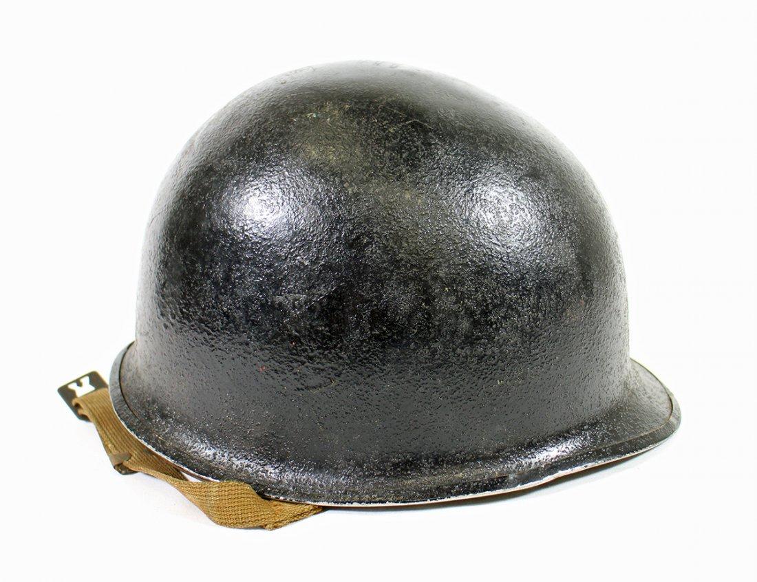 WWII POLISH EAGLE COMBAT HELMET - 3