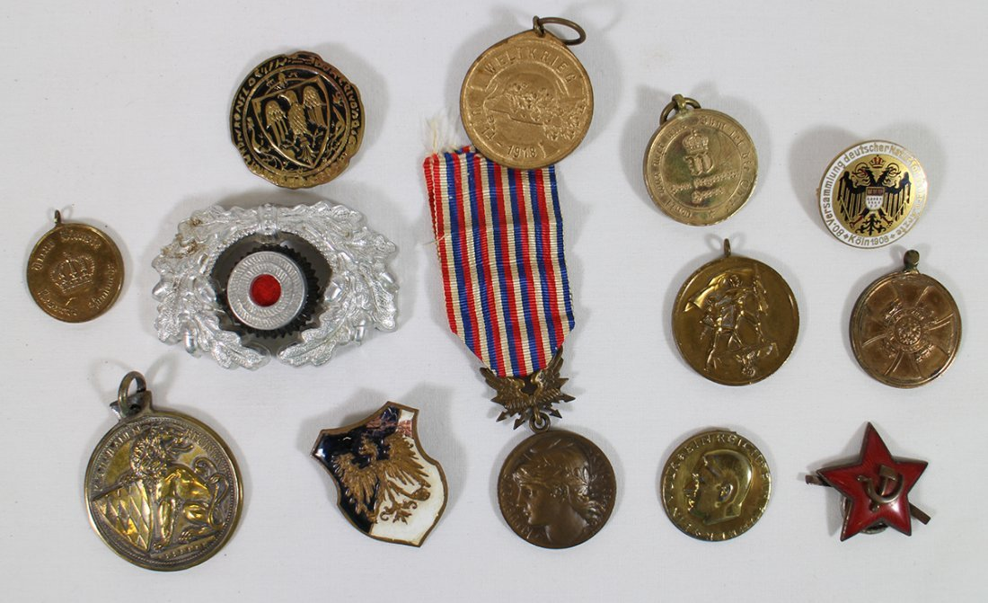 WWI WWII GERMAN MEDALS & AWARDS