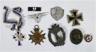 WWII GERMAN NAZI MEDALS