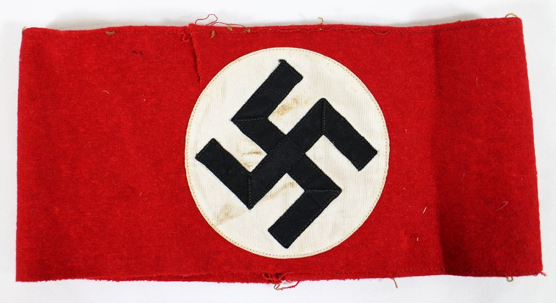 WWII NAZI PARTY NSDAP ARMBAND