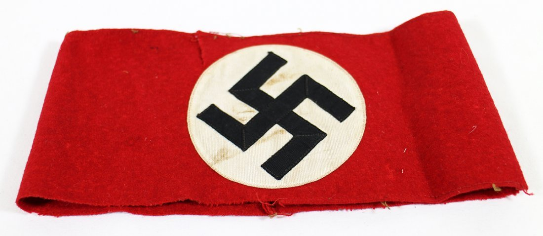 WWII NAZI PARTY NSDAP ARMBAND - 2
