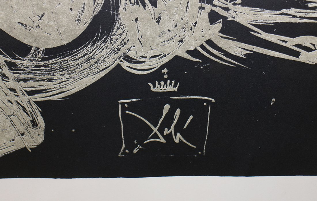 SALVADOR DALI THE FACE IN THE WINDMILL LITHOGRAPH - 6