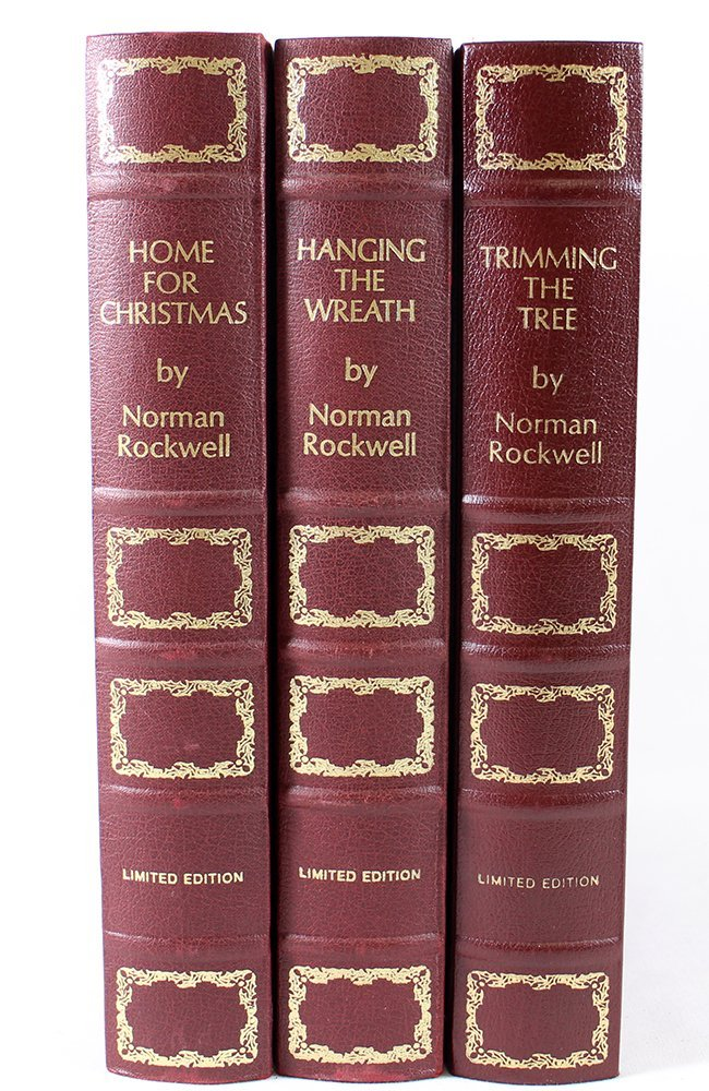 (3) STERLING FRANKLIN MINT NORMAN ROCKWELL PLATES - 4