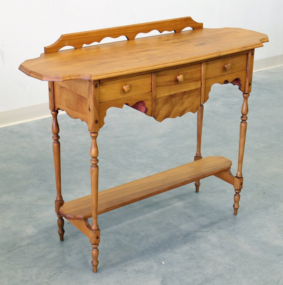 WOOD CONSOLE TABLE - 3