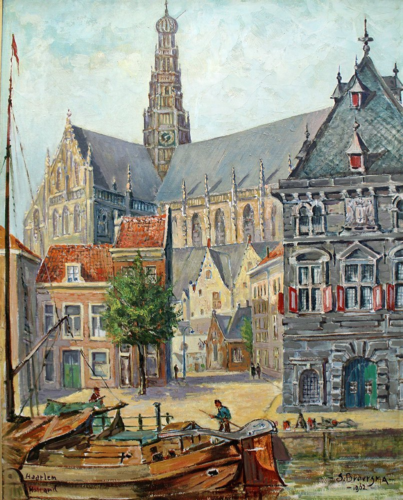 HAARLEM HOLLAND PAINTING