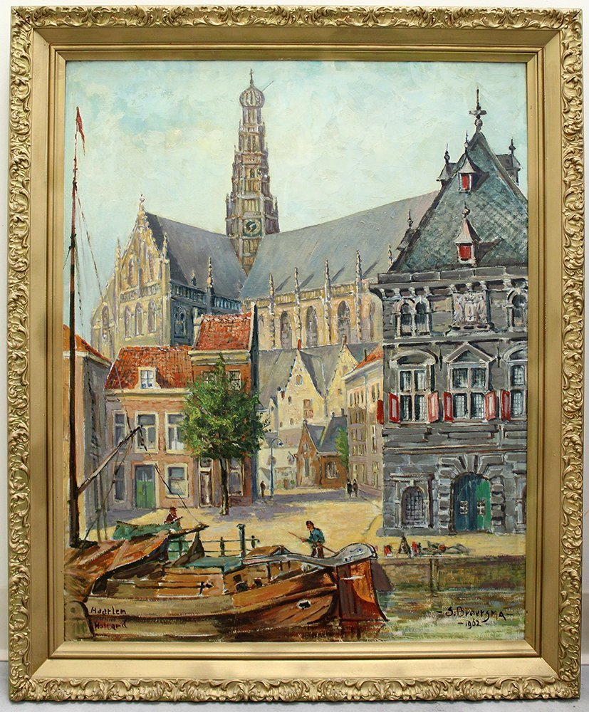 HAARLEM HOLLAND PAINTING - 2