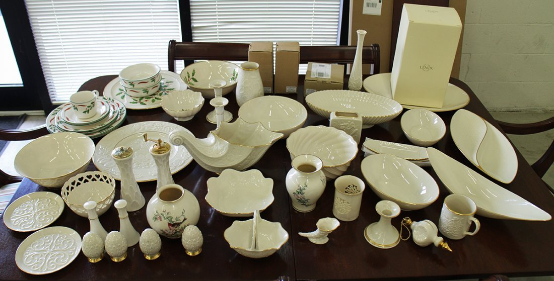 LARGE LENOX COLLECTION