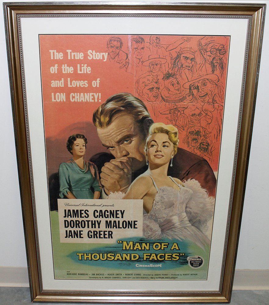 MAN OF A THOUSAND FACES MOVIE POSTER